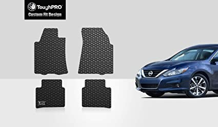 Image Unavailable. Image not available for. Color: ToughPRO Nissan Altima Floor Mats Set - All Weather ...