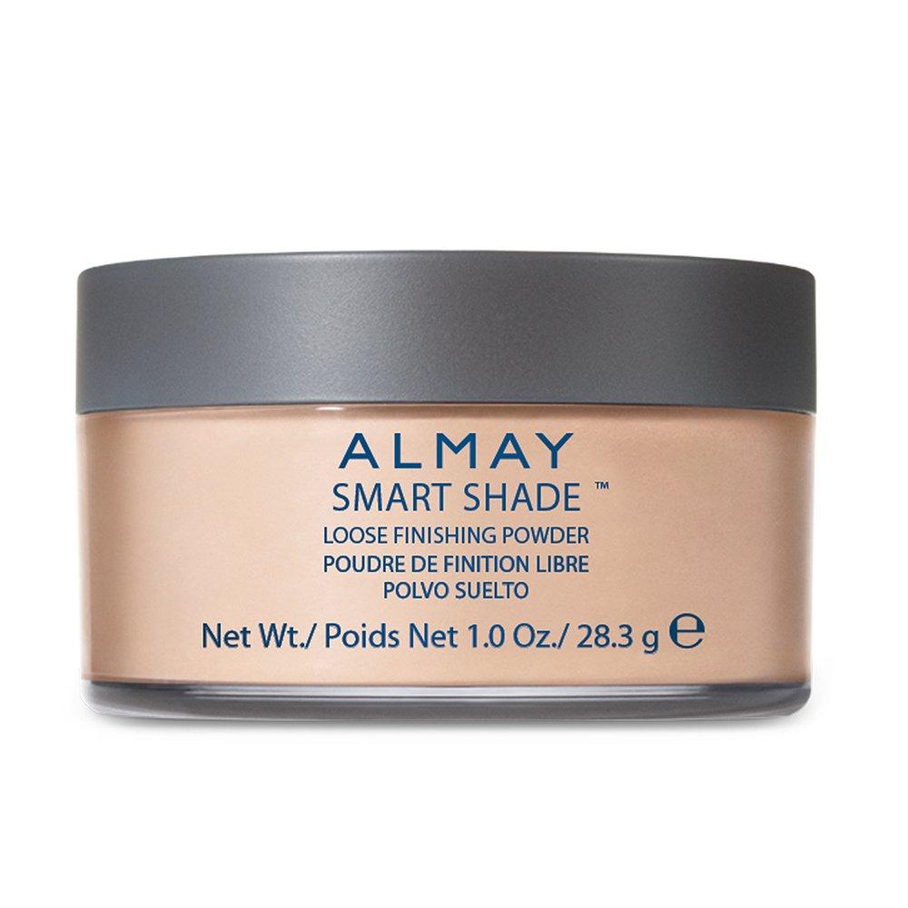 Almay  Loose Finishing Powder, Light/Medium