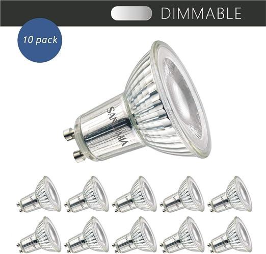 5W 7W 9W GU10 MR16 LED STRAHLER SPOT LICHT LAMPE BIRNE LEUCHTMITTEL DIMMBAR