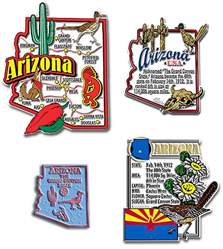 Magnet Arizona (Arizona Four-Piece State Magnet Set)