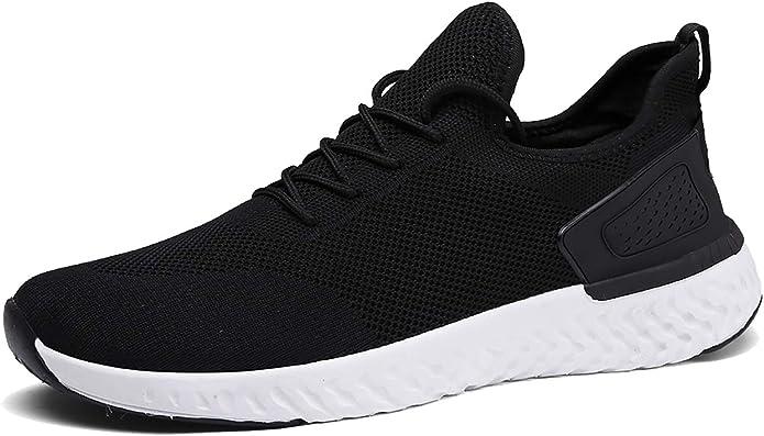 Pyjacos Zapatillas de Deporte Respirable Sneakers Zapatillas Running para Unisex: Amazon.es: Zapatos y complementos