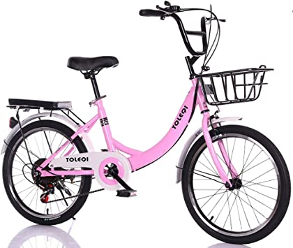 MLSH Girls Bike Retro Sport Kids Bike Bike, Estudiante Adulto 20 ...