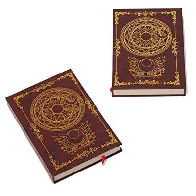 Bowinr 1 Pack Cardcaptor Sakura Notebook, 200 Sheets Japanese Anime Journal for Taking Notes and Drawing( Style 02): Toys & Games