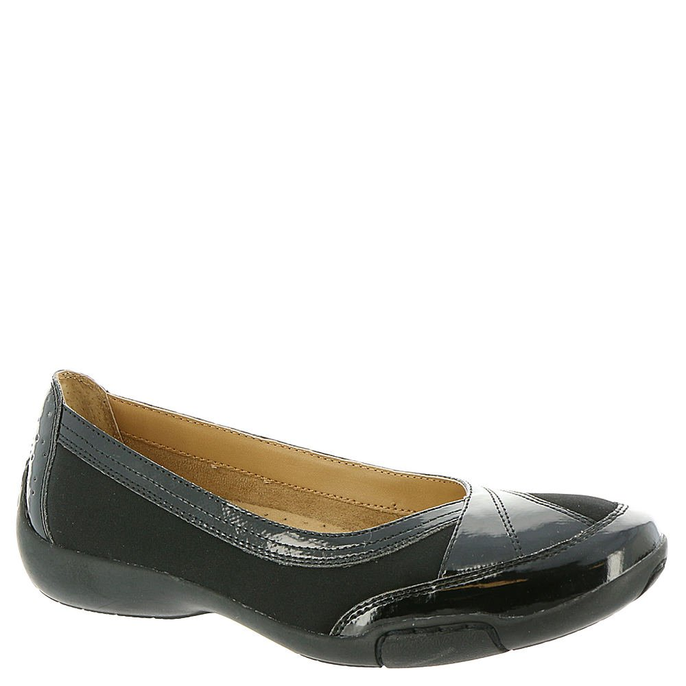 Auditions Verona II Women's Slip On B01HITH792 8 E US|Black-black-patent