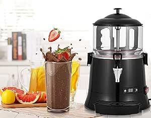 YUCHENGTECH 5L Commercial Hot Chocolate Maker Machine ChocolateDispenserWarmer Hot Beverage Warmer for heating Chocolate Coffee Milktea CE Certification (110V, 5L)