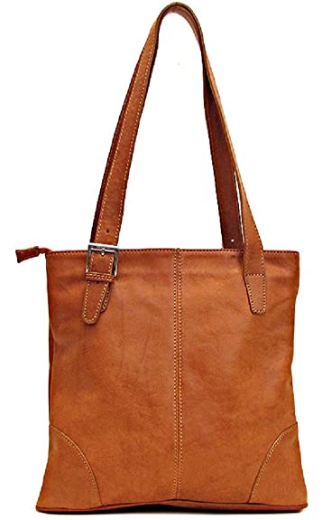 9e61d66cb671 Amazon.com  Floto Tavoli Shoulder Bag in Saddle Brown Italian Calfskin  Leather  Floto  Shoes