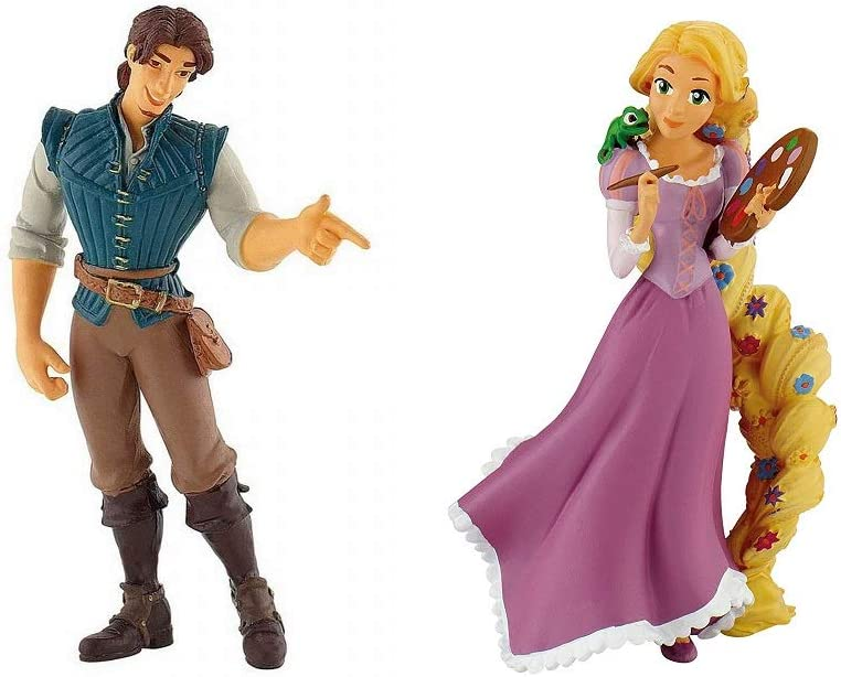 Disneys Rapunzel and Flynn Rider Birthday Party Cake Toppers