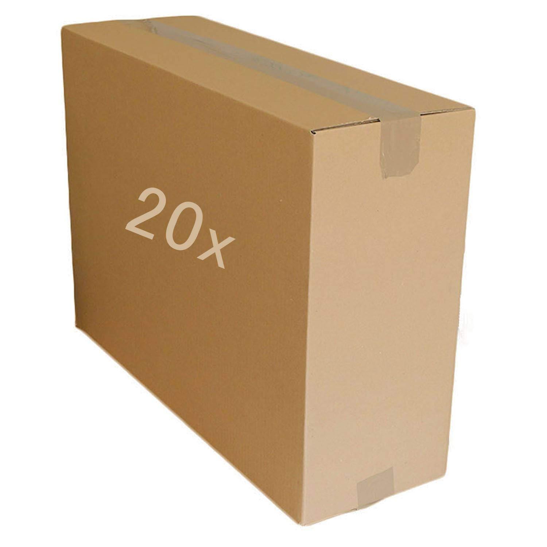 5 10 20 40 cajas grandes de cartón fuerte, cajas de mudanza de varios tamaños, color 20-23