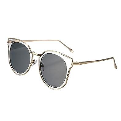 aroncent mujer gafas de sol ojos de gato Outdoor polarizadas ...