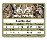 Realtree Girl's Mid Calf Socks Gift Box