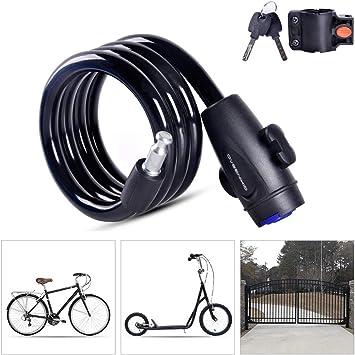 LieYuSport Candado Bici Candado Bicicleta Alta Seguridad con ...