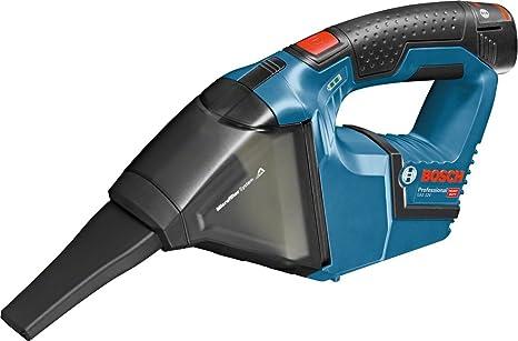 Bosch Professional Akku-Sauger GAS 12 V (2 x 3,0 Ah Akku, 12 V, Behältervolumen: 0,35 l, in L-Boxx)
