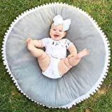 Matoen Baby Infant Cotton Creeping Mat Playmat Blanket Play Game Mat Room Decoration (Gray)