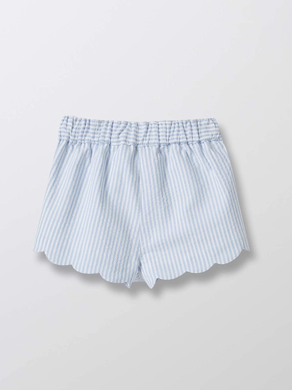 Seersucker Cyrillus Baby-Shorts