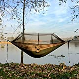 How To Sleep Like A Baby Everywhere You Go?With A Sunyear Camping Hammock, Of Course! Tired of cheaply made hammocks that won't even last you through a travel year?Fed up with annoying bugs and blood sucking mosquitoes ruining your outdoor sleep?Look...