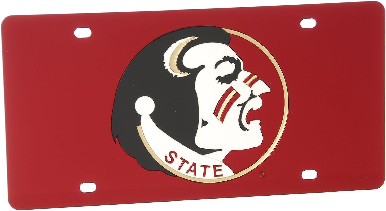 WinCraft Florida State University S00400 Acrylic Classic License Plates