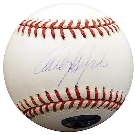 finest selection 946da 24474 Carlos Delgado Signed Official MLB Baseball Toronto Blue ...
