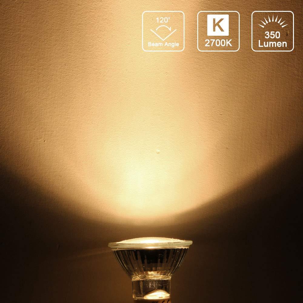 20 Watt 12 Volt 10 pcs Halogenlampe GU4-Sockel Warmwei/ß 38 /° Abstrahlungswinkel OSDUE MR11 // GU4 Halogen-Reflektor 2700K Lampe Strahler