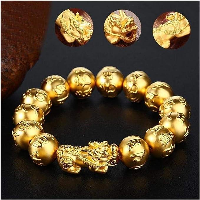 Wealth Lucky Bracelet Unisex Bracelet Men Women Gold Color Pixiu Can Bring Good Luck : Amazon.ca: Clothing, Shoes & Accessories