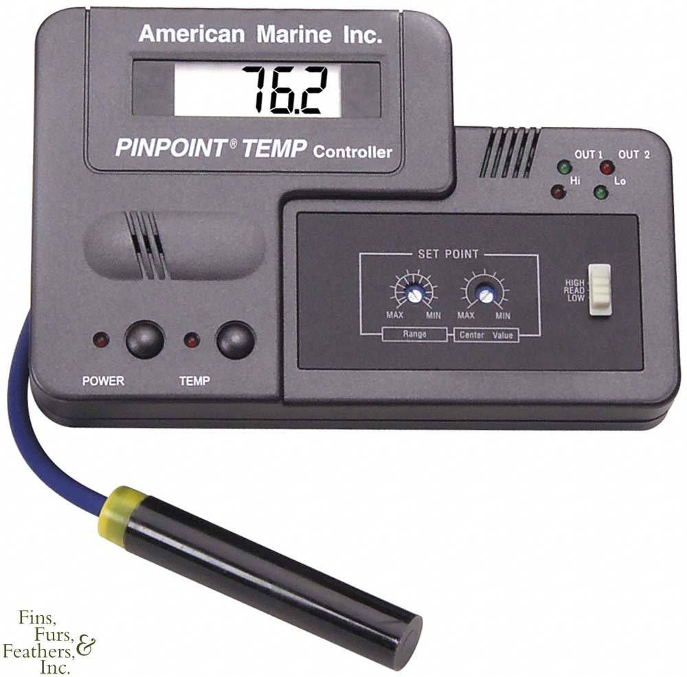 American Marine Pinpoint Dual-Stage Temperature Controller + Probe
