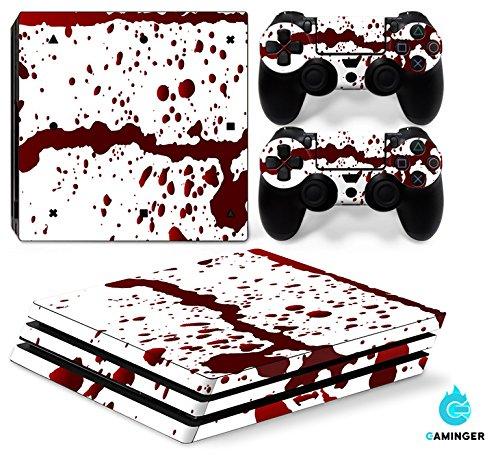58 opinioni per Set di adesivi decorativi per PlayStation 4 Pro (Console + 2 Joypad)- sangue