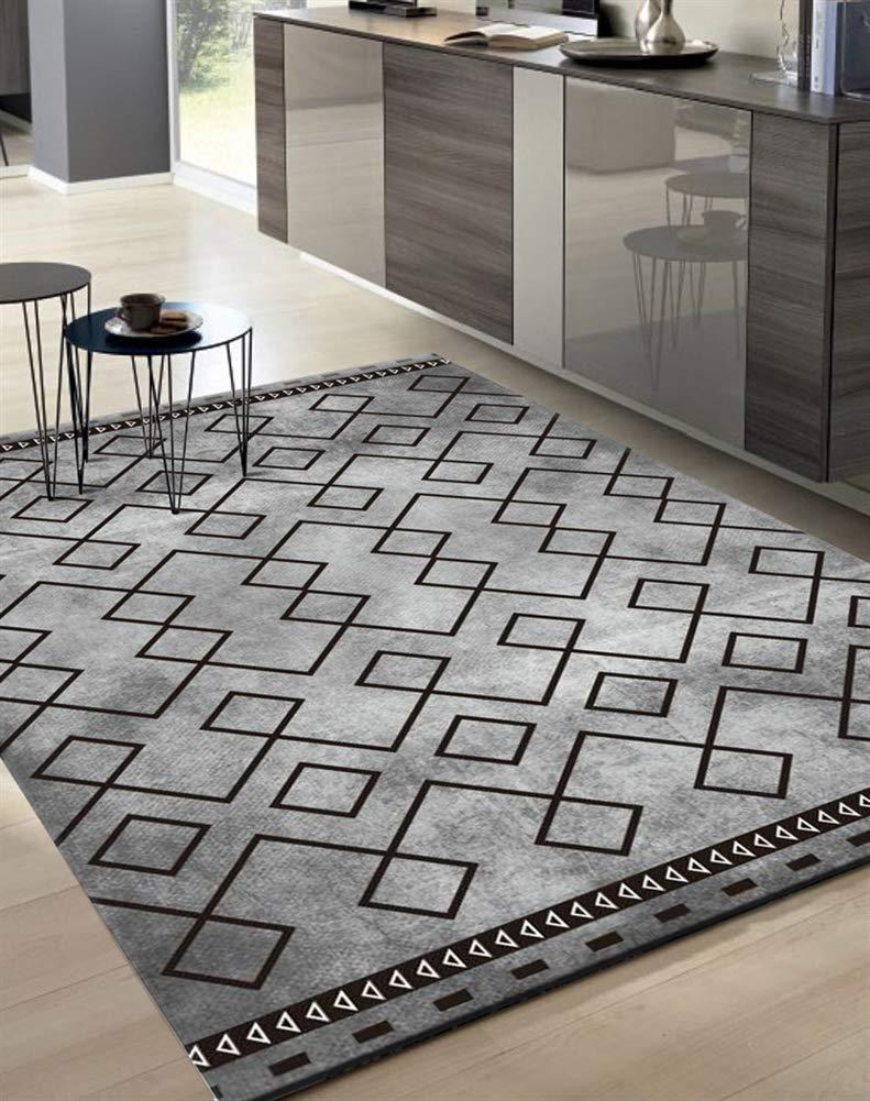Insun Teppich Skandinavischer Stil Teppich Teppich Teppich Moderner Geometrische Formen Teppich Anti Rutsch Abwaschbarer Stil 24 160x200cm B07KC594Q9 Teppiche f2333a