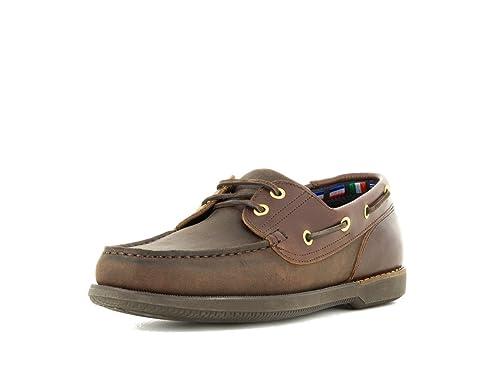 Zapatos Color Para Hombre Con Eu Cordones Marrón 39 De Náuticos Uaxn4qrU