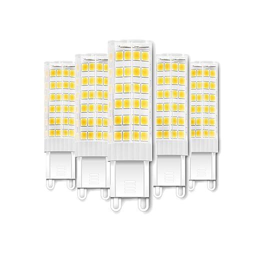 Engeya G9 - Bombillas LED (7 W, 7 W, ahorro de energía,