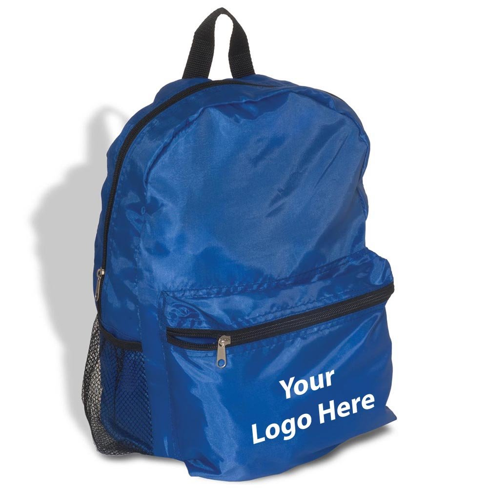 Econo Backpack - 40 Quantity - $6.19 Each - PROMOTIONAL PRODUCT / BULK / Branded with YOUR LOGO / CUSTOMIZED