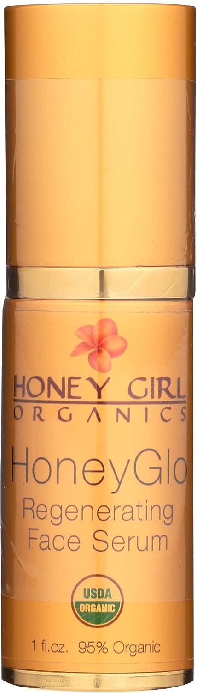 Honey Girl Organics Regenerating Face Serum, 1.0 Fluid Ounce