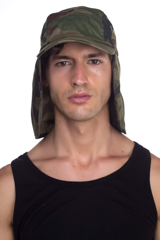 6c01079e1b729b Top Level Fishing Sun Cap UV Protection - Ear and Neck Flap Hat - RV ...
