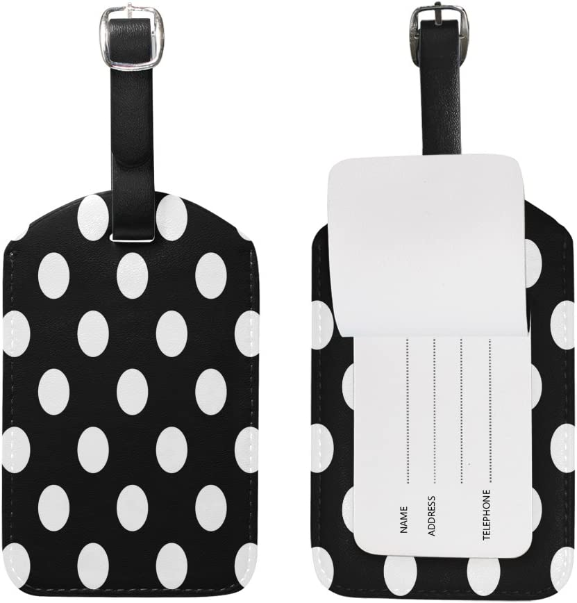 Travel in Fashion Black and White Luggage Tag Travel set. Stroller Travel Tag Gift under 10 Travel Accessory Luggage Tag Backpack Tag