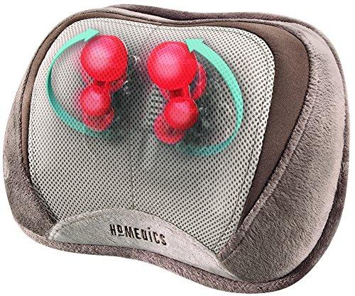 031262064455 - HoMedics SP-100H 3D Shiatsu and Vibration Massage Pillow with Heat carousel main 3