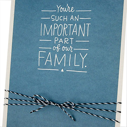 Hallmark Father's Day Greeting Card Appropriate for Stepdad (Important Part of Our Family) Photo #6