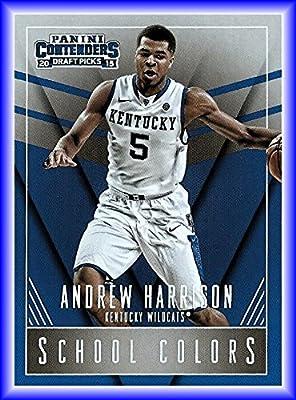 2015-16 Panini Contenders Draft Picks School Colors #3 Andrew Harrison