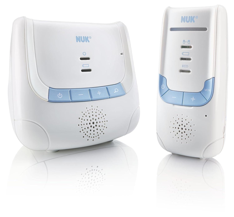 Nuk - 80601955 - Babyphone Easy Control 200 Portée 200m, Blanc