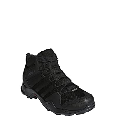 save off d517d 90447 Amazon.com   adidas outdoor Terrex AX2R Mid GTX Hiking Boot - Men s Black  Black Black, 10.5   Hiking Boots