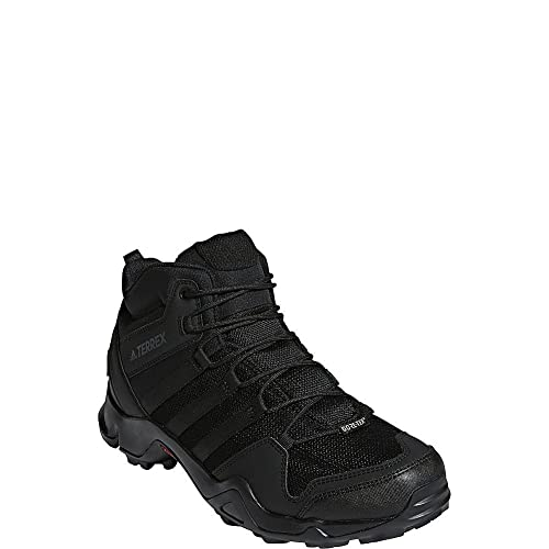 cost charm wholesale top fashion adidas outdoor Terrex AX2R Mid GTX Hiking Shoe - Men's Black/Black/Black 9