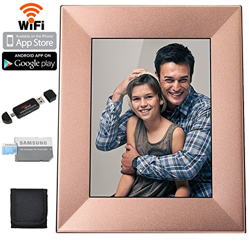 "nixplay Iris 8"" Digital Picture Frame With Wi-Fi Cloud (W..."