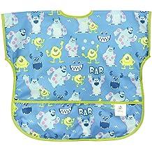 Bumkins Disney Baby Waterproof Junior Bib, Monsters Inc. Blue  (1-3 Years)