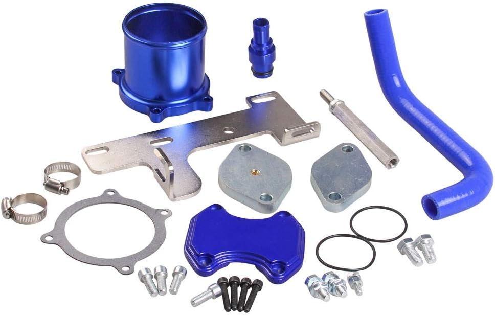 Lavado de coches pistola de agua Tubo de circulación de gas de escape del coche for D o d g e Ram 10 Kit de piezas de la válvula del coche Combinación del ciclo del enfriador de la válvula accesorios