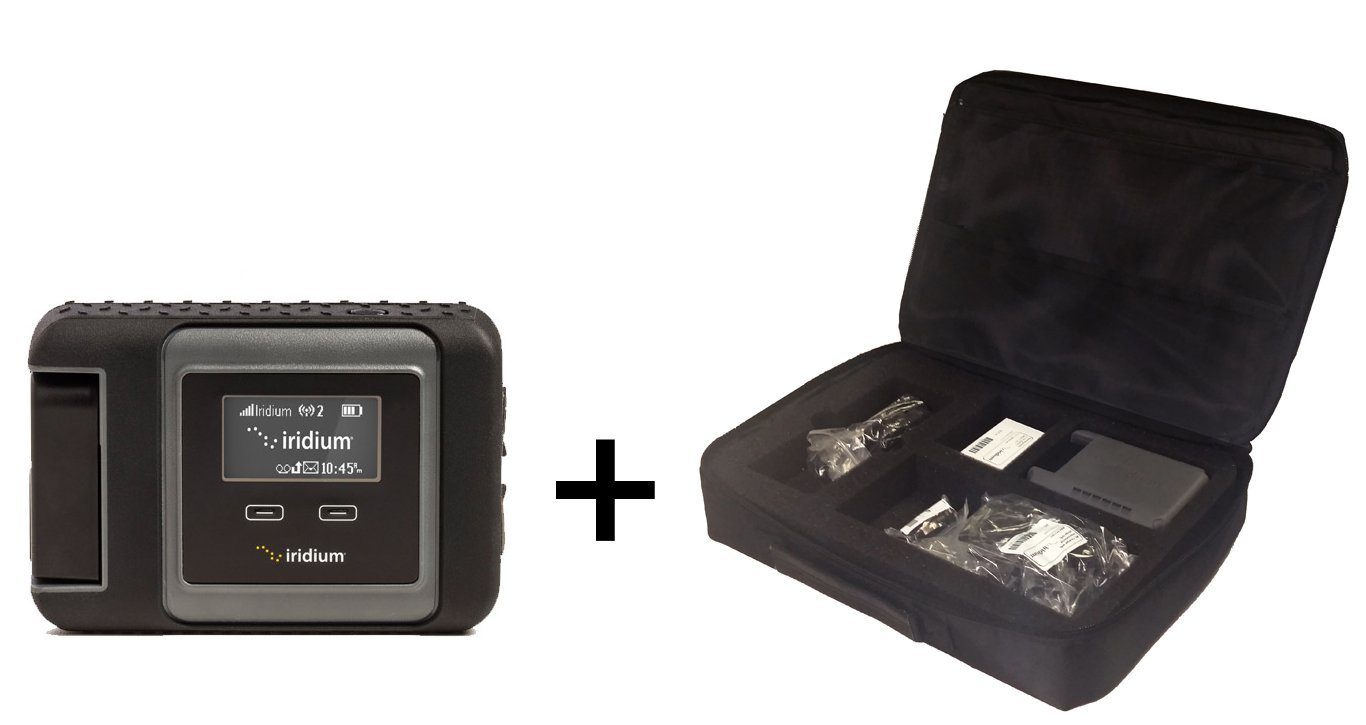 Iridium GO! Satellite Phone Wi-Fi Hotspot with Travel Bag by iridium