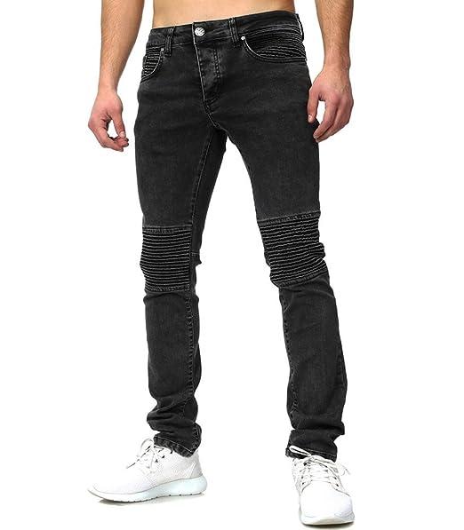 Tazzio Jeans Semi Slim Homme Jeans Gris 509 - Gris  Amazon.fr  Vêtements et  accessoires 60bcb6ccc28e