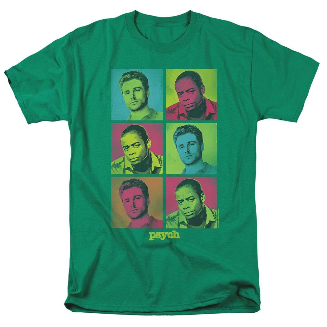 Psych Pop Art Shawn Gus Tv Show T Shirt
