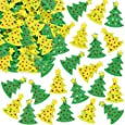Adesivi Albero di Natale in feltro (confezione da 60)
