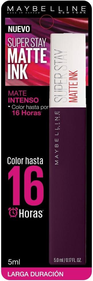 Maybelline Labial Liquido Matte Ink Escapist, 5 g: Amazon.com.mx: Salud y Cuidado Personal
