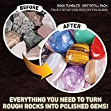 National Geographic Grit Refill for Rock Tumbler - Works, Lortone, Thumler and More