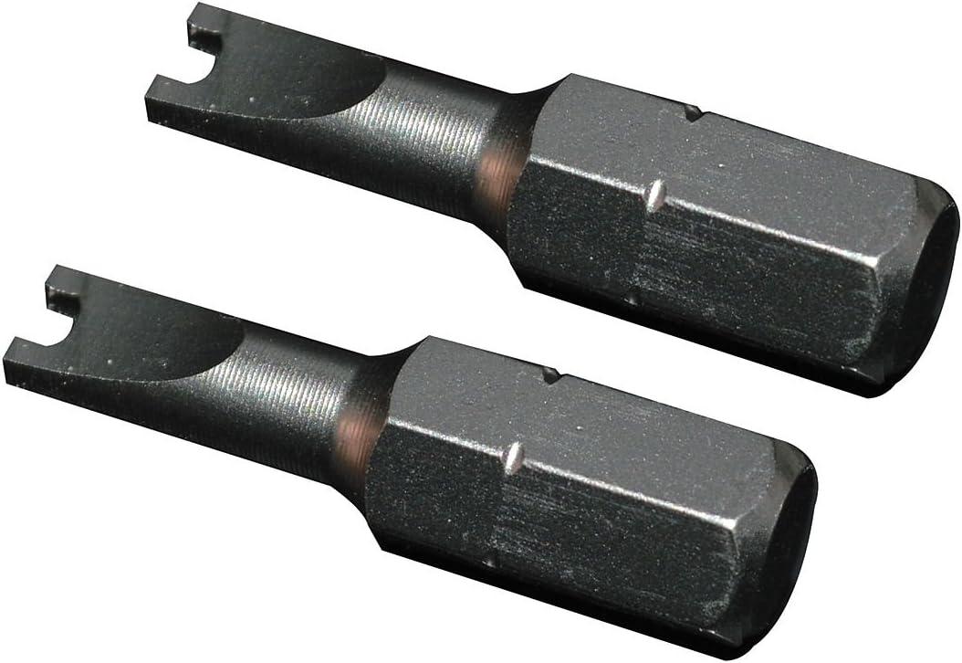 2 Pack Jb Industries SHLD-BIT Shield Tamper Proof Bit//Key