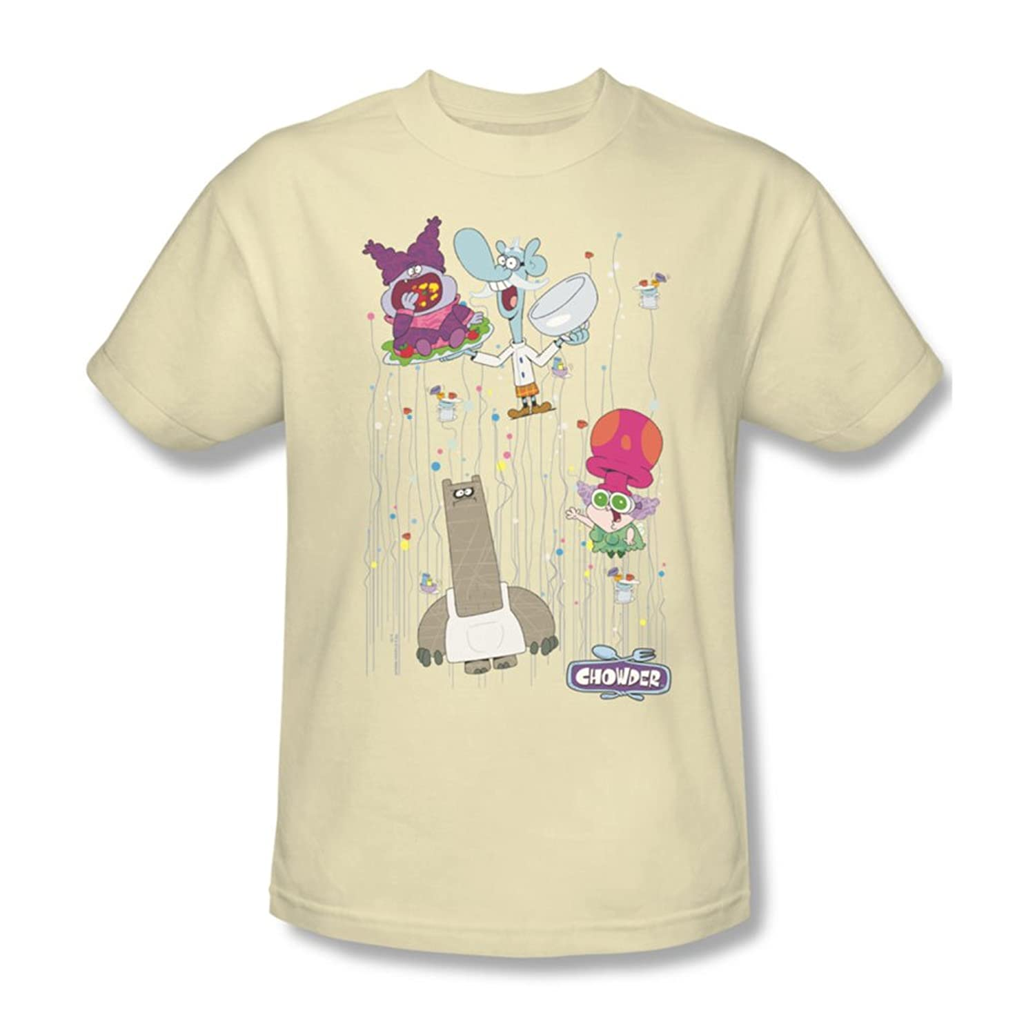 Chowder - Mens Dots Collage T-Shirt