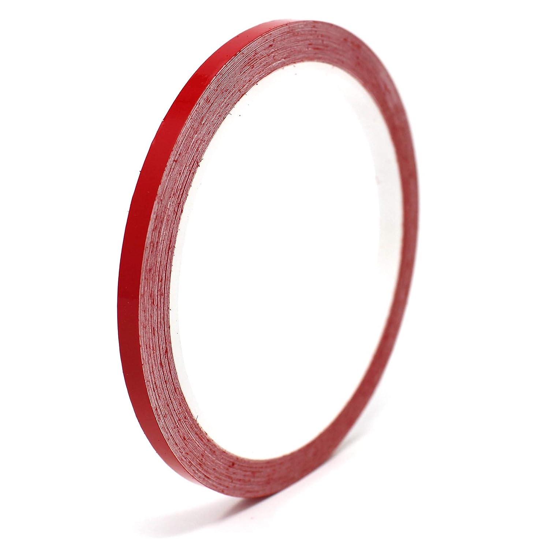 Finest Folia Bandes autocollantes pour d/écoration de voiture Rouge 10 m 0,79 /€//m/ètres
